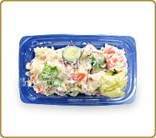 素材が生きてる!ホッとするおいしさ 国産具材で作ったポテトサラダ(7種の国産野菜ポテトサラダ)