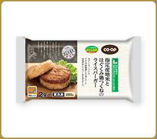 もちもちお米と美味しいつくねがコラボ! CO・OP指定産地米とはぐくみ鶏つくねのライスバーガー  調理方法がレンジでできるのが、簡単でいいなと思いました。 とっても美味しいです。 (あいちゃんさん)