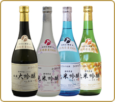 四季の料理に沁みる辛口 静岡県産こだわりの純米大吟醸・吟醸(花の舞) とてもフルーティーで飲みやすく、お酒が苦手な人にもおススメです。お口に含むとふわっとした感じがとても心地いいです。 (クーちゃんさん)