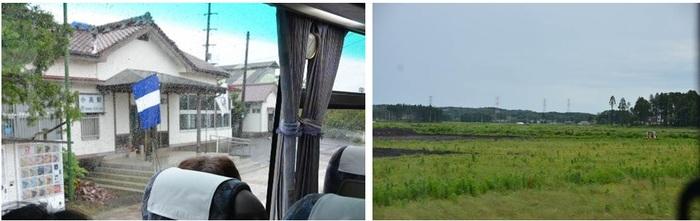 時の止まった小高駅と村落のあった場所