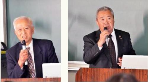 講演者お二人の話に、参加者は熱心に耳を傾けました