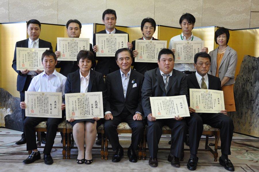 神奈川県で地域見守り感謝状授与(ユーコープ)