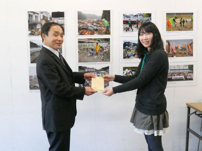 静岡ボランティア協会へ寄付をお渡ししました