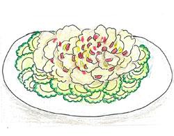豚肉とゴーヤの夏サラダ