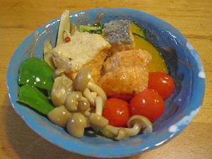 銀鮭と野菜の南蛮漬け