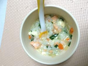 鮭と野菜のダシ煮