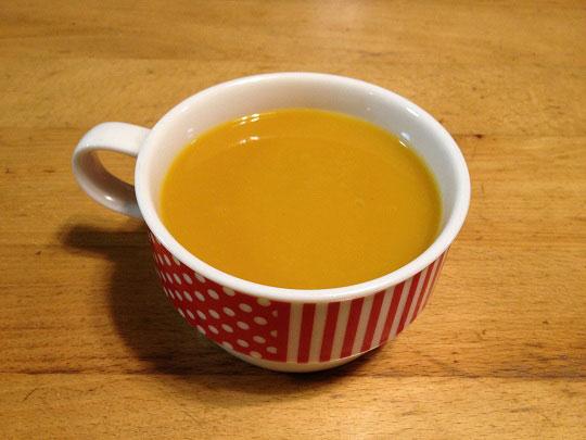 簡単かぼちゃスープ