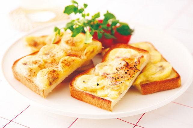 バナナトーストハニー&チーズ