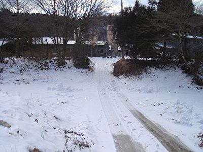 日中でも氷点下となる真冬日が続いています