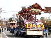 日高火防祭「はやし屋台」