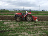 稲作は耕起作業からスタートです