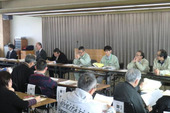 平成27年産米の生産数量目標の配分に係る会議