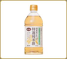 日本のお米をたっぷり使って醸造 CO・OP国産米で作った特選純米酢 まろやかさと、味の良さ、いろいろな料理に最適と思います。(よっこさん)