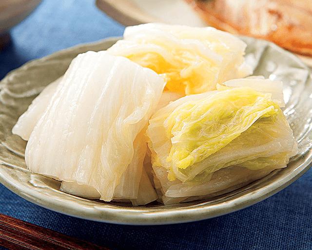 甘くておいしい白菜は真冬の楽しみ コープの産直野菜 旬にこだわった白菜漬 JA常総ひかりの白菜使用