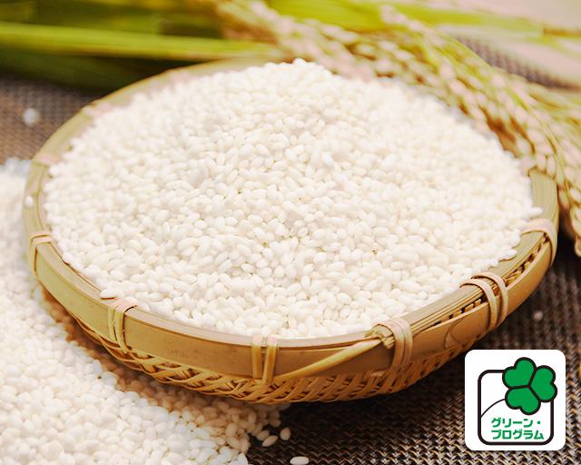 鮮やかな白さとなめらかな舌触りのもち米 特別栽培米 岩手ヒメノモチ もち米