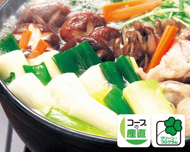 おいしい野菜は土づくりから グリーン・プログラム 関田農園の長ねぎ