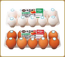 臭みが少なく、新鮮な卵です CO・OP味菜卵(白玉/赤玉) 黄身の色がきれいなオレンジで、まろやかな味。ほかの卵はもう食べられません。卵焼き最高です。(Himawariさん)