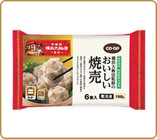 ごろっ。肉!中華街の味 CO・OP横浜大飯店監修のおいしい焼売(冷凍) 肉の味がしっかりして、おいしいです。野菜の甘味もしっかりあります。肉まんが気にいっているので、焼売の発売が楽しみです! (トモミさん)